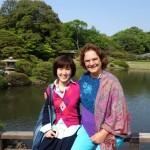エリイサさん大阪プログラムの変更>高野山へ